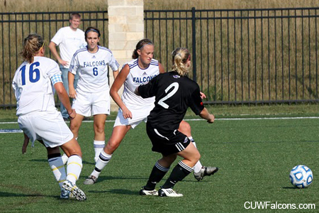 Carthage Edges Women's Soccer 2-0