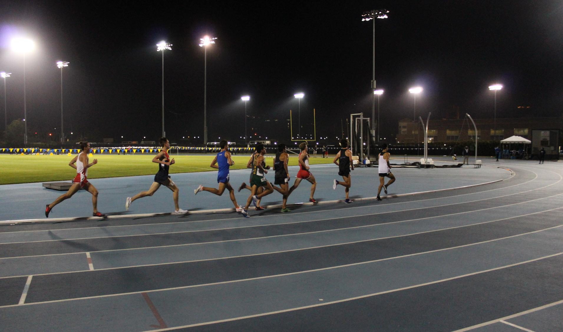 Vaziri's 4:00.01 Mile Leads Gauchos at UCLA Legends Invite