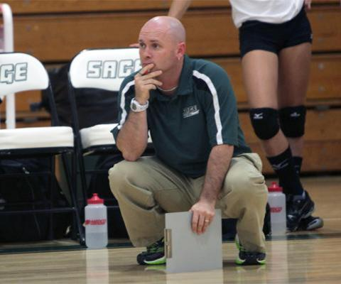 Jason Wood named Sage's Interim Head Men's Volleyball Coach