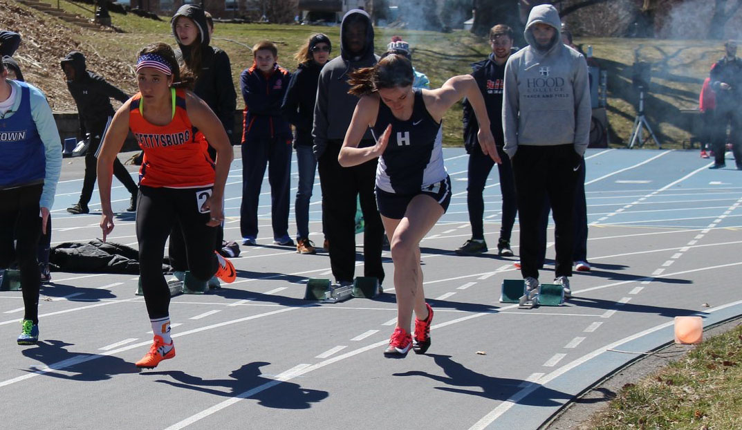 Gretchen Young (photo by Hood College Track and Field)