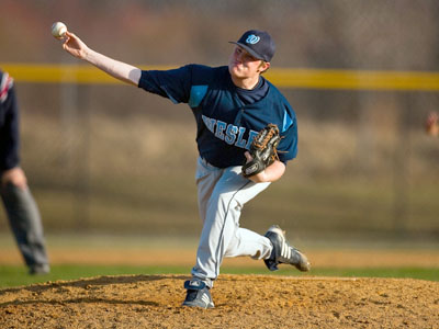 Wesley Downs Wilkes in ECAC Semis
