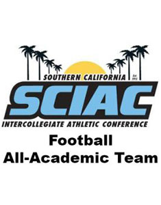 Five CMS Football Players Named To 2012 SCIAC All-Academic Team