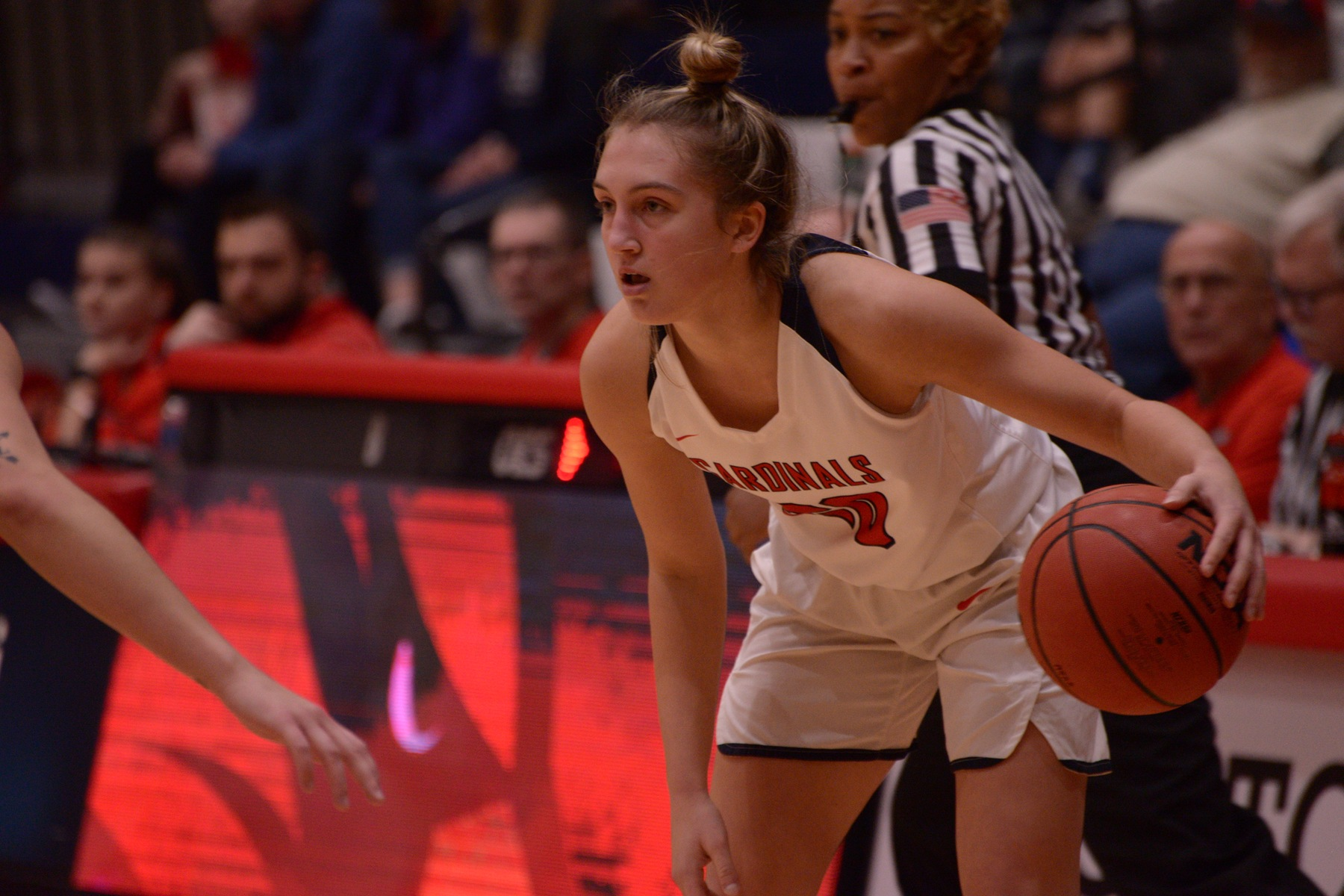Cardinals Can't Overcome Fourth Quarter Push Leading to USI Victory, 67-58