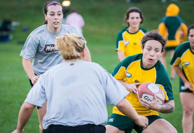Norwich hosts Australian Defence Force Union Women's Rugby team