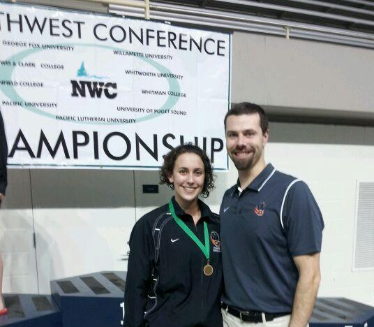 Swimming finishes NWC Champs