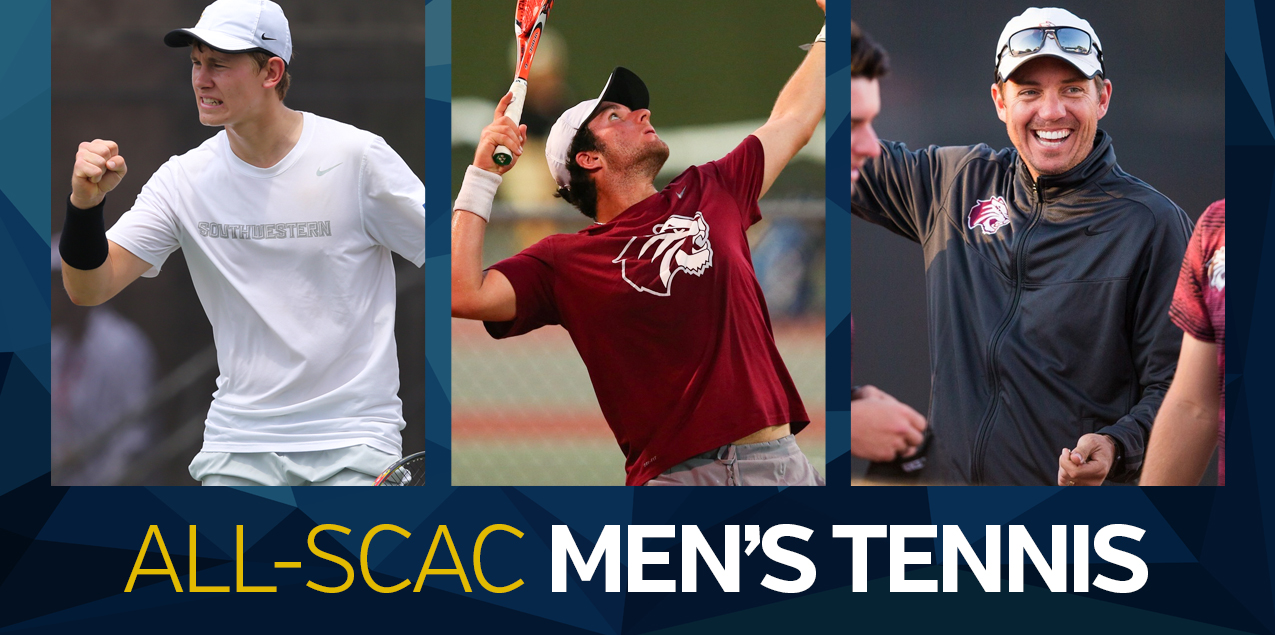 Trinity's Mayer, McMindes, Southwesterns' Dimanche Highlight All-SCAC Men's Tennis Team