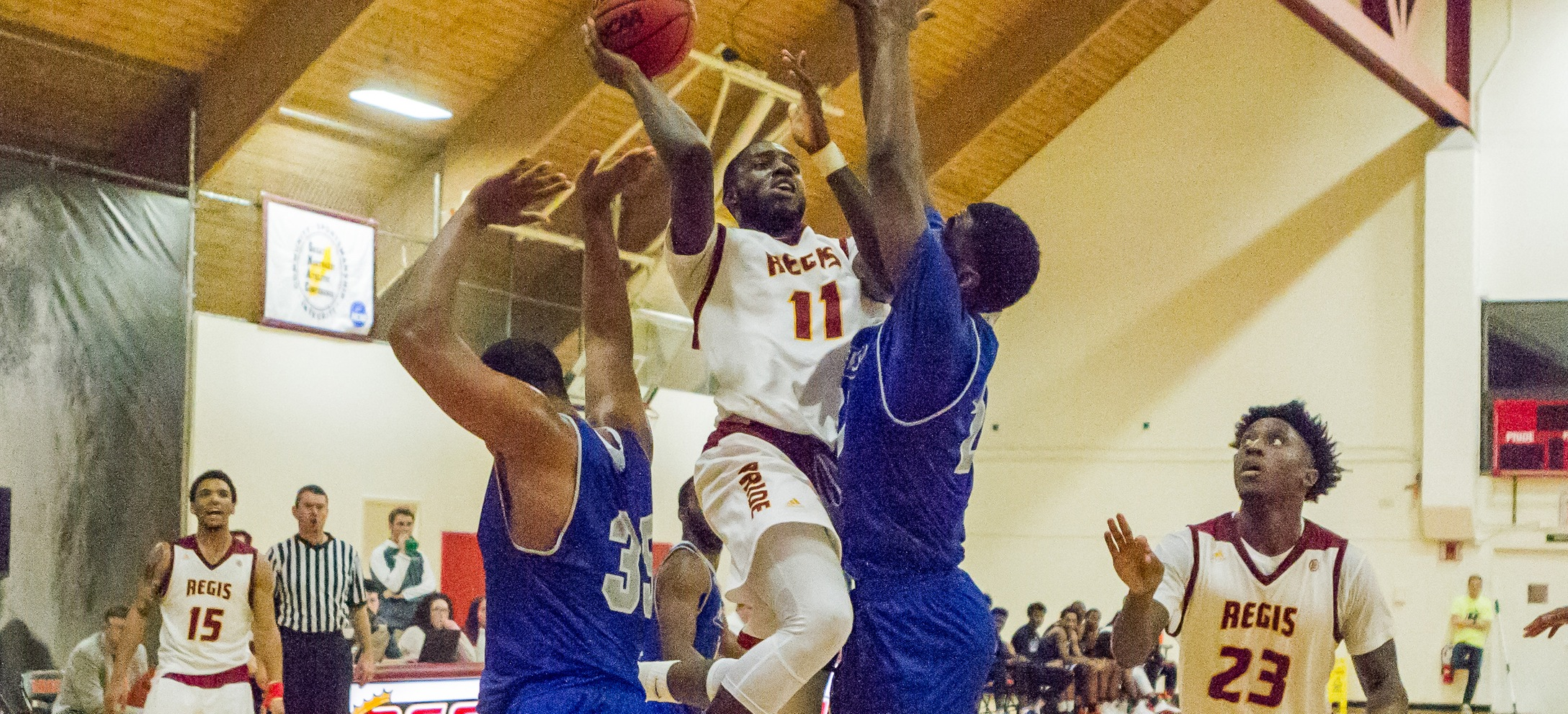 Men's Basketball Edged In GNAC Battle At St. Joe's (Me.)