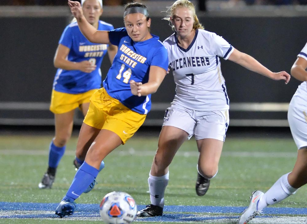 Trifone Registers First Career Win as Lancers Blast Past Corsairs, 3-1