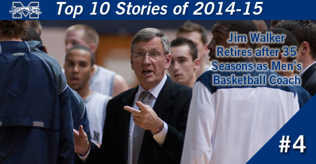 Top 10 Stories of 2014-15 - #4 Walker Retires after 35 Seasons as Head Men's Basketball Coach