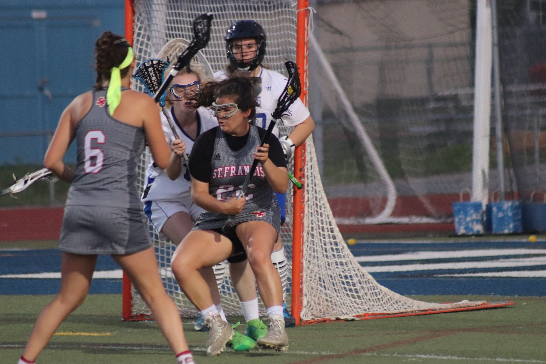 Lacrosse Drops Regular Season Finale at Davis