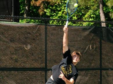 Men's Tennis Takes Down SCAD-Atlanta, 6-3