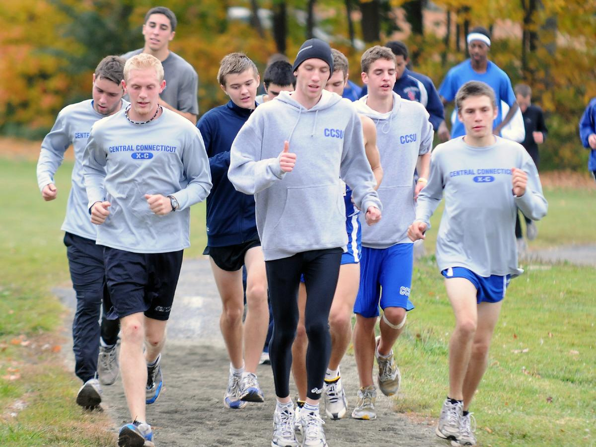 Five Sign On For Men's XC/Track