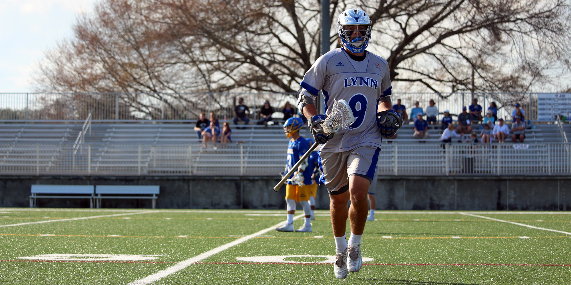 Cosenza's Fourth-Quarter Heroics Lift Lacrosse to Big Upset at No. 10 Belmont Abbey