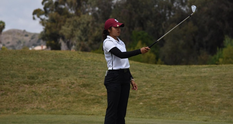 Women's Golf Remains in Fifth Through Two Rounds at WCC Championships