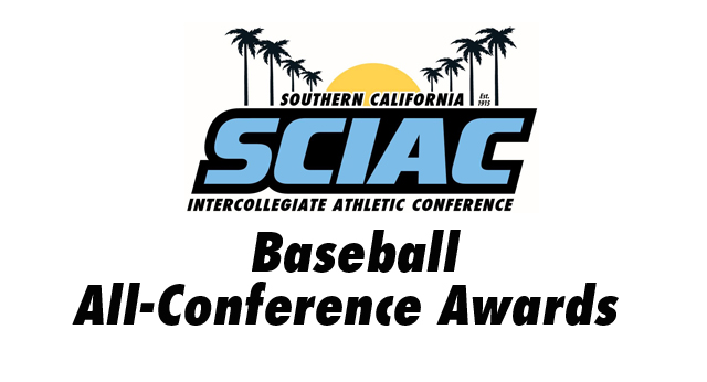 SCIAC Is Proud to Announce the Baseball  All-Conference Awards