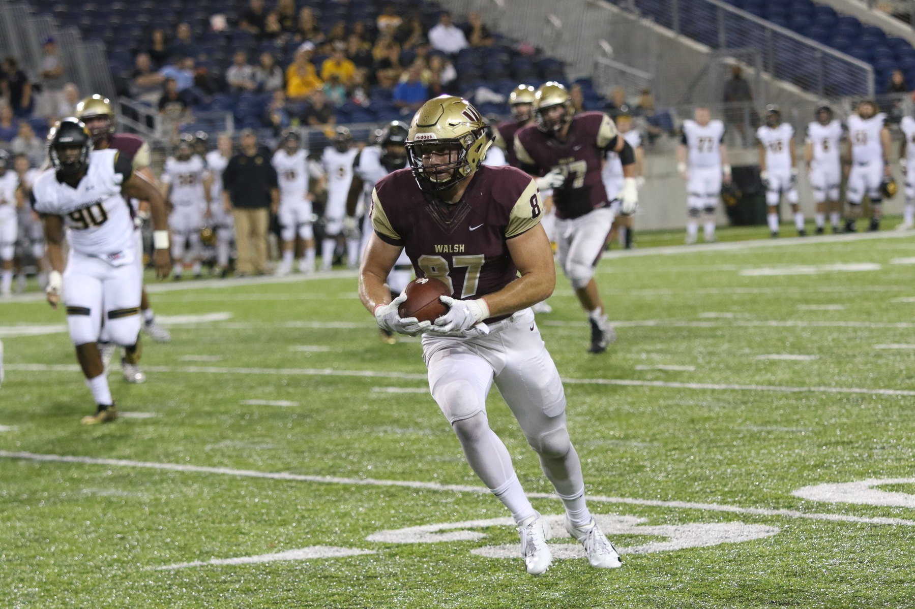 Walsh Battles ODU Tough, But Falls 20-10