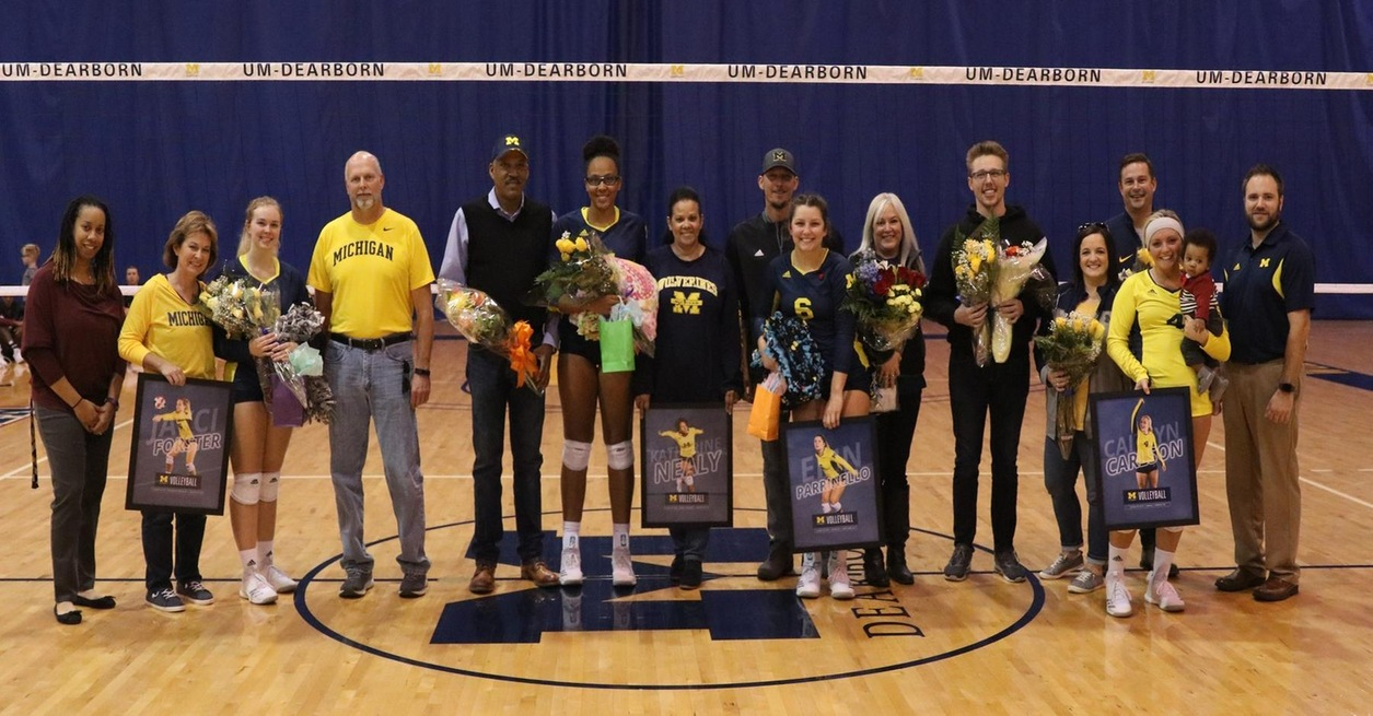 Wolverines honor four on Senior Day