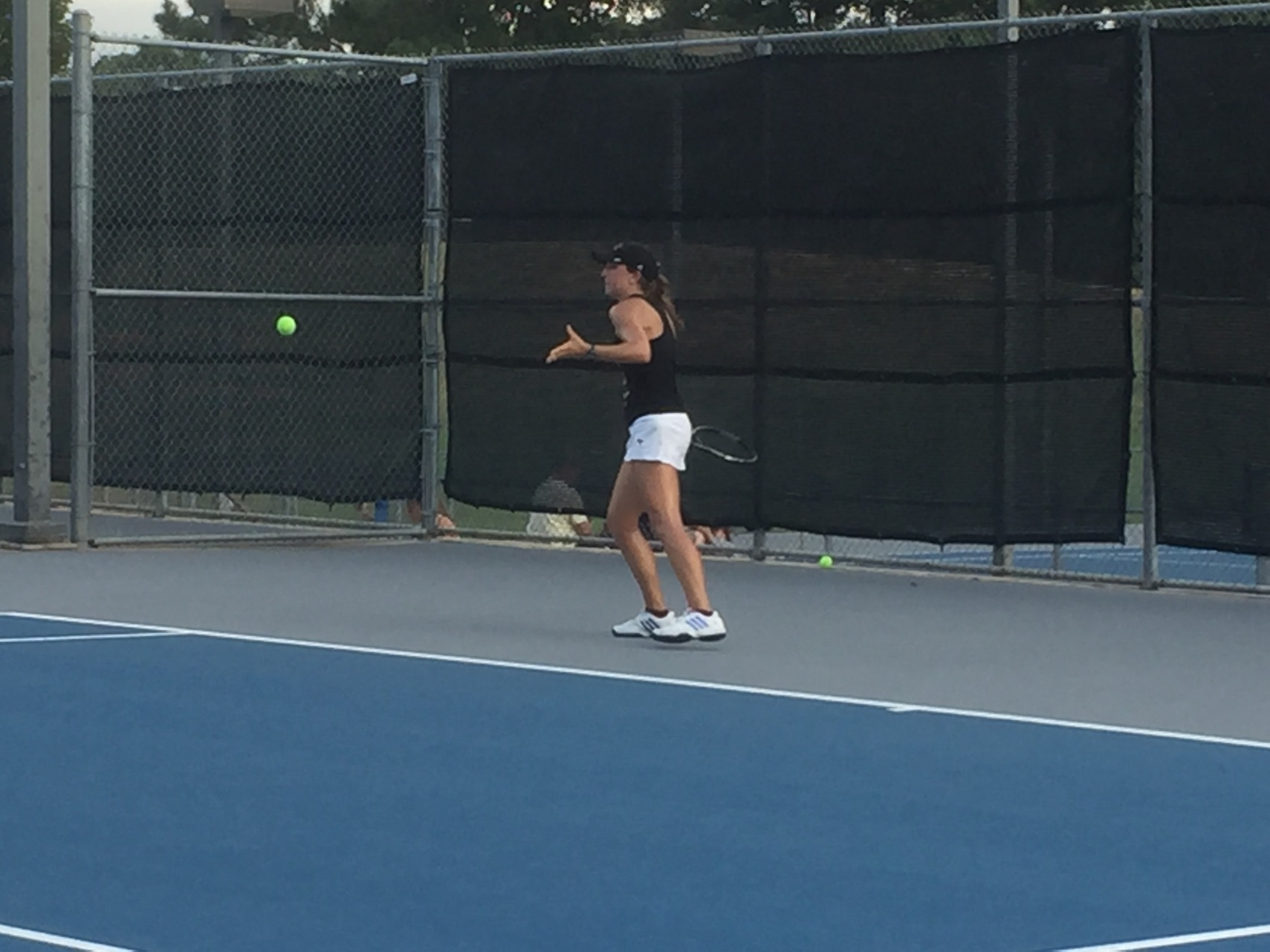 Seibert, Morris sweep their way into A-Draw at ITA's