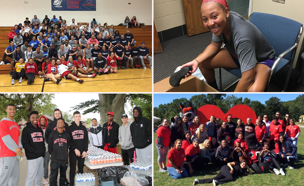 Mariners Wrap Up Successful Fall Season of Community Service