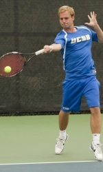 Men's Tennis Stumbles in Home Opener