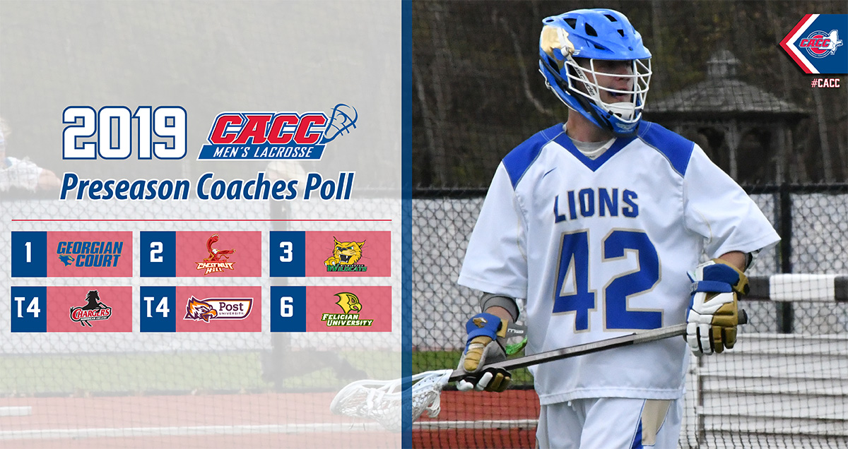 Defending Champion GCU Tops the 2019 CACC Men's Lacrosse Preseason Poll