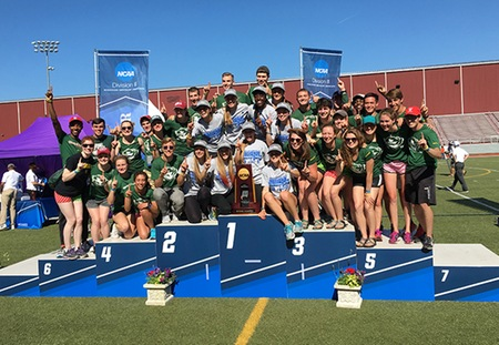 Washington University Captures NCAA Division III Women's Outdoor Track and Field Title