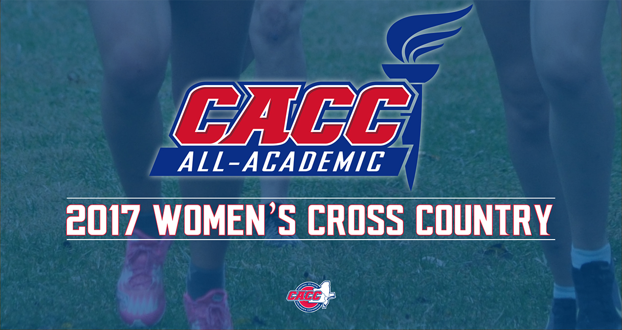 33 STUDENT-ATHLETES NAMED TO 2017 CACC WOMEN'S CROSS COUNTRY ALL-ACADEMIC TEAM
