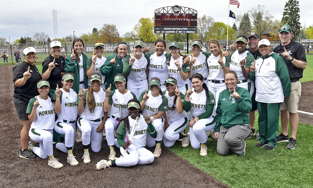 SOFTBALL BEATS MONTANA; WINS BIG SKY REGULAR SEASON CHAMPIONSHIP!