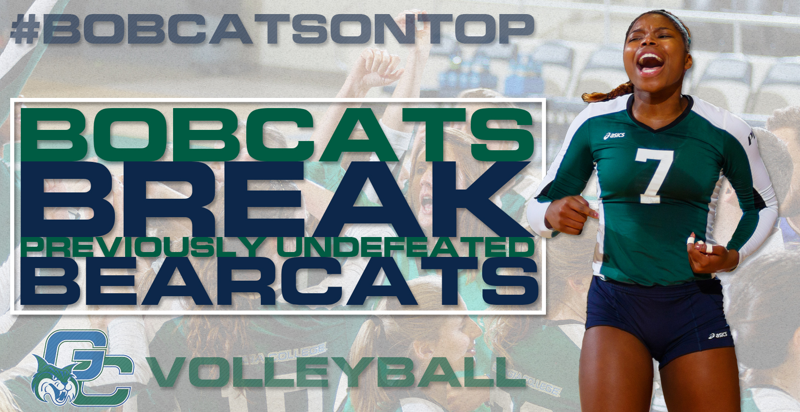Bobcats Break Bearcats, Shatter Undefeated Record