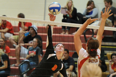 Storm split on first day of Wartburg Invite