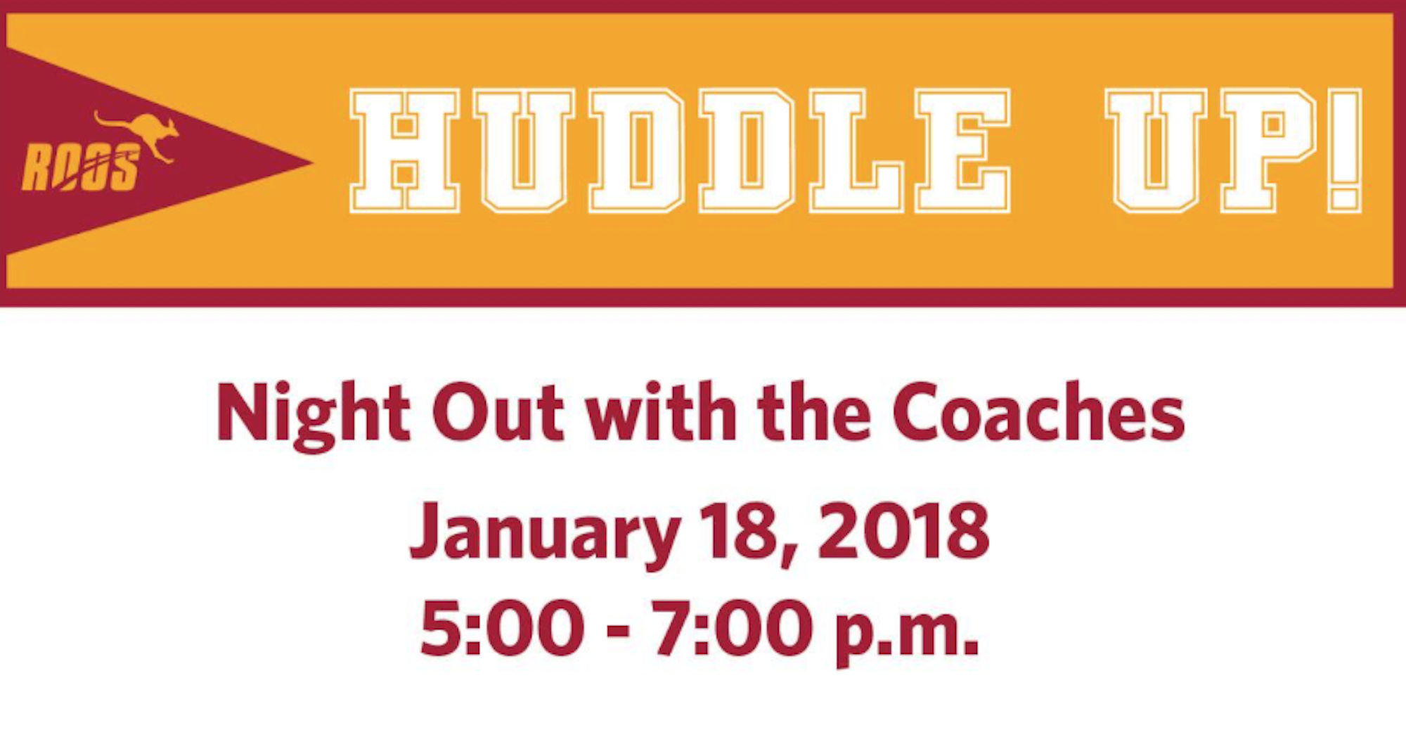 Huddle Up with the Austin College Coaches in San Antonio!