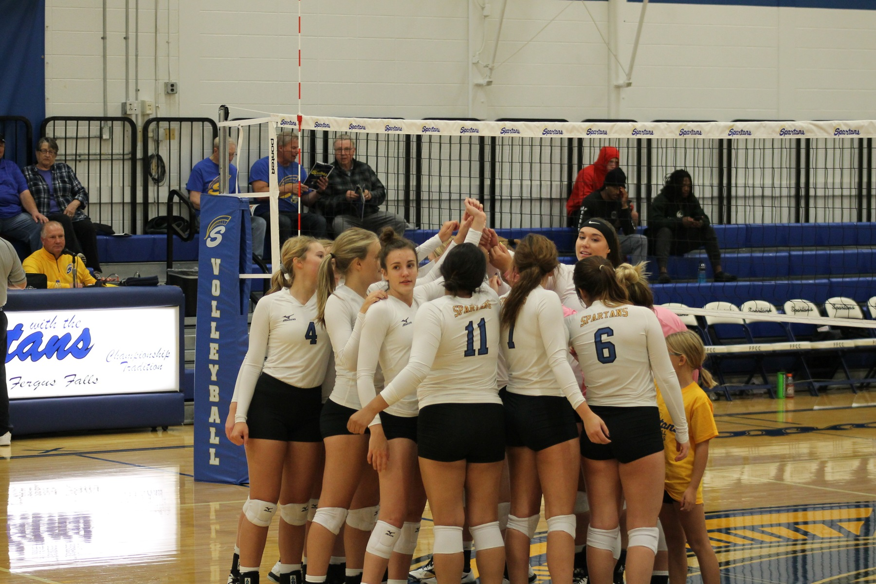 Lady Spartans Top Concordia JV in Five Sets