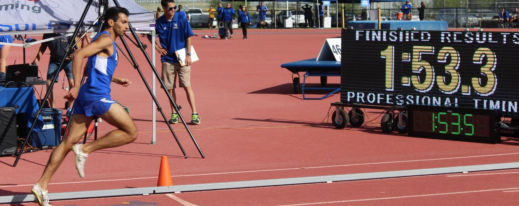 Gaucho Track Teams Split Big West Double Duals