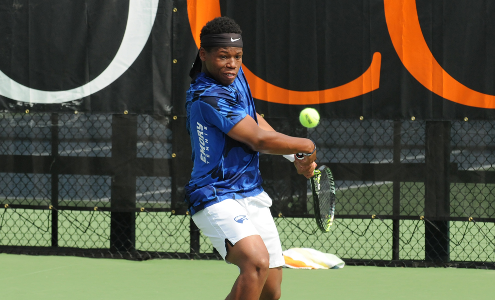 Jonathan Jemison Named UAA Men's Tennis Player Of The Week