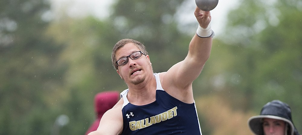Gallaudet weathers the storm at the New Captains Classic