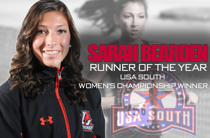 Cross Country: Sarah Bearden captures USA South Women's Championship