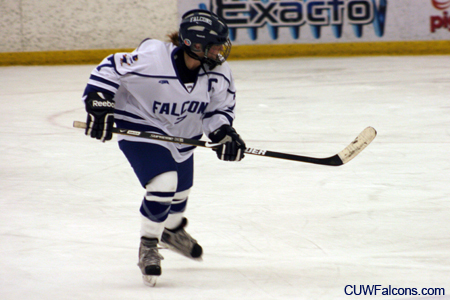 Women's Hockey victorious at Bradley Center