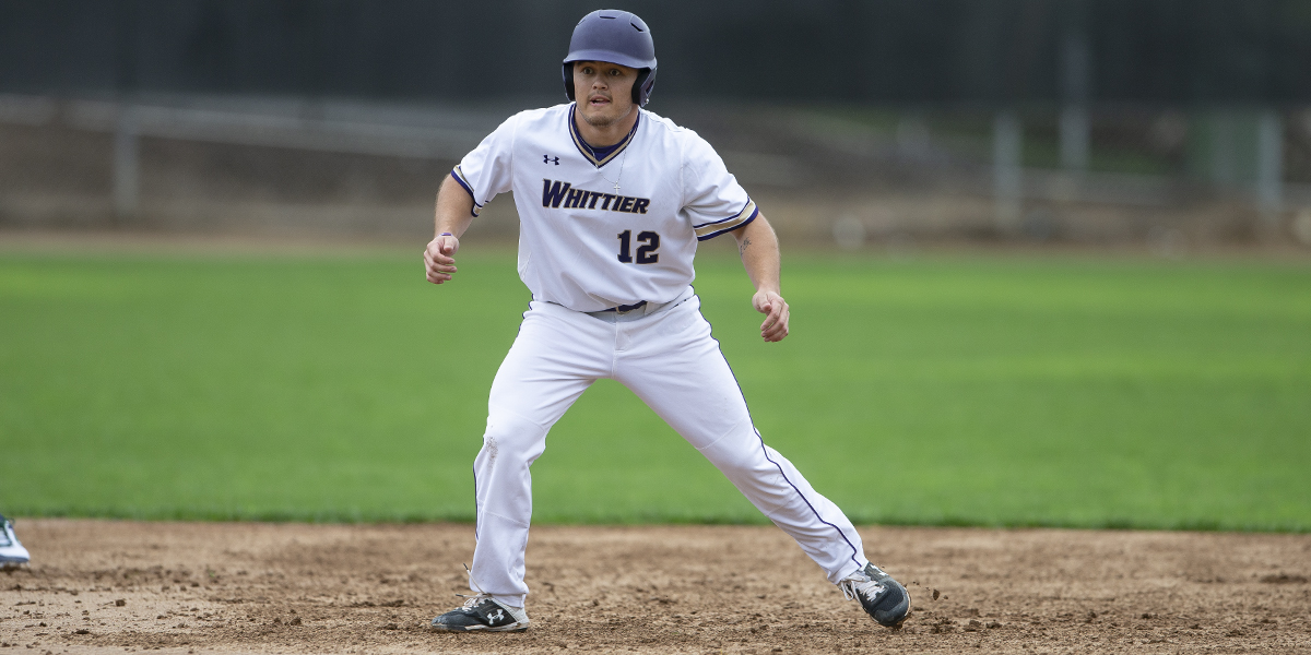 Whittier swept by Occidental 3-2 & 6-1