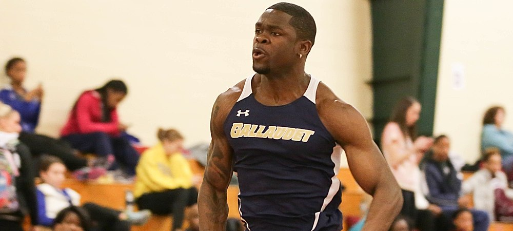 Bison men's track and field team places 9th at Goucher Classic