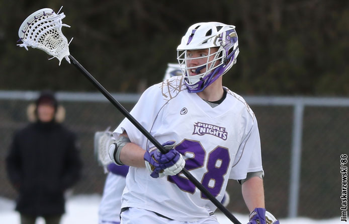 Men's Lacrosse Closes Out Season With Loss to No. 5 Merrimack
