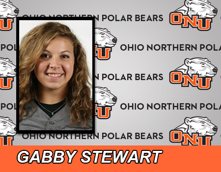 Gabby Stewart drills two home runs as Softball split with Baldwin Wallace
