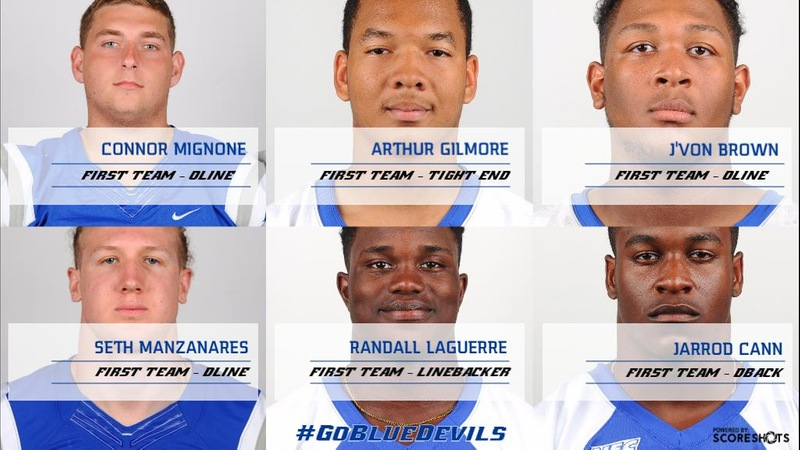 Rossomando, Mignone Among Major Award Winners as CCSU Places 11 on All-NEC Teams
