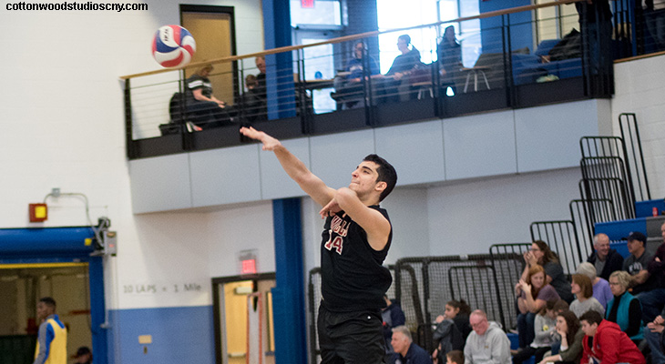 Pair Of Close Losses For Wells Men's Volleyball