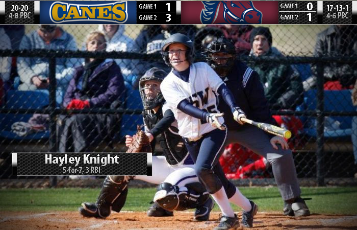Knight, Pitching Lead GSW to Sweep of USC Aiken