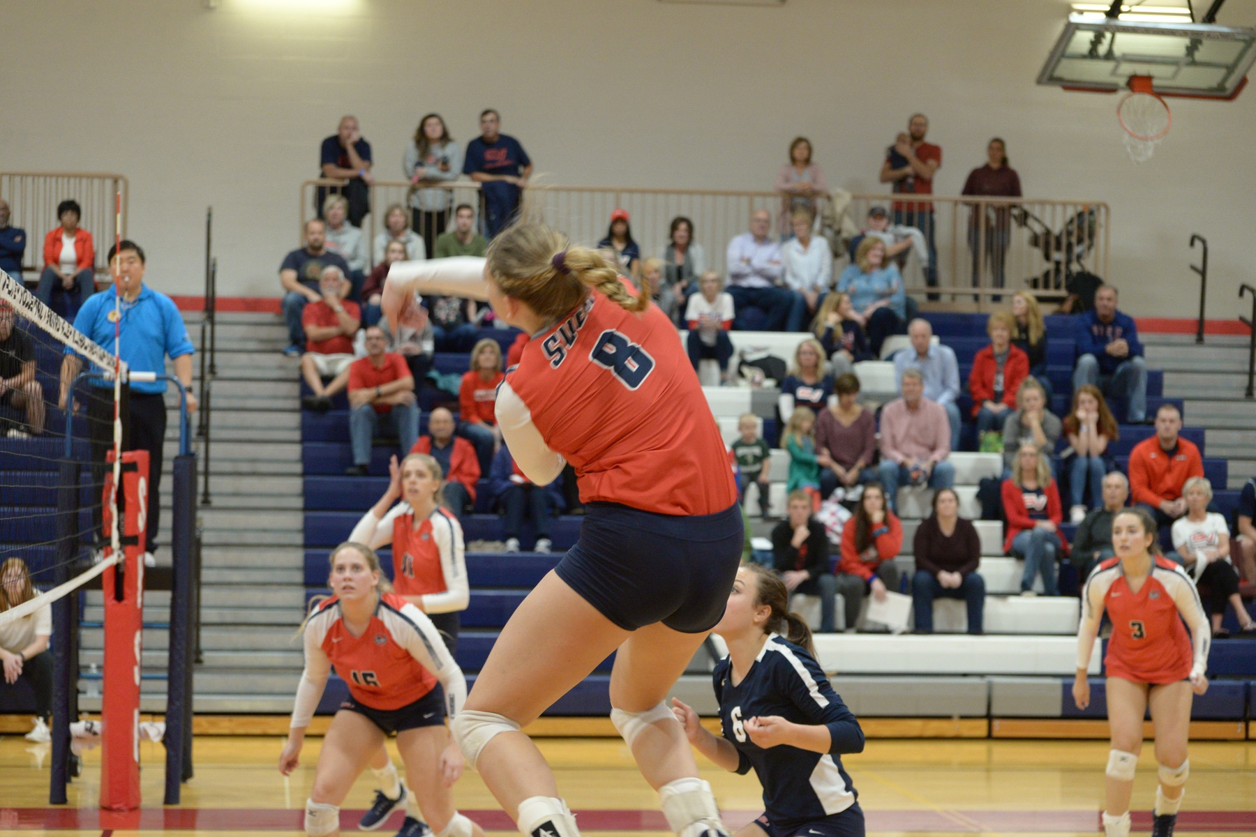 Tabit eclipses the 1,000 kill mark in 3-1 win over UIndy