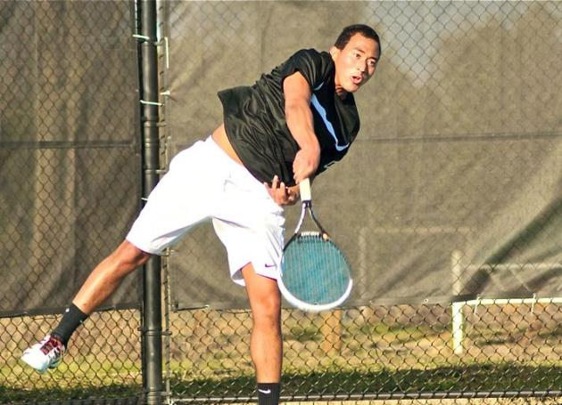 Guilford Men Win Third Straight, 8-1, Over Greensboro