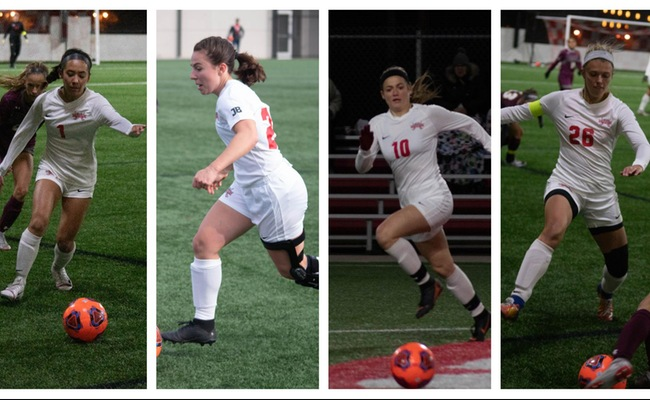 Four Women's Soccer Players Highlight All-NACC Teams