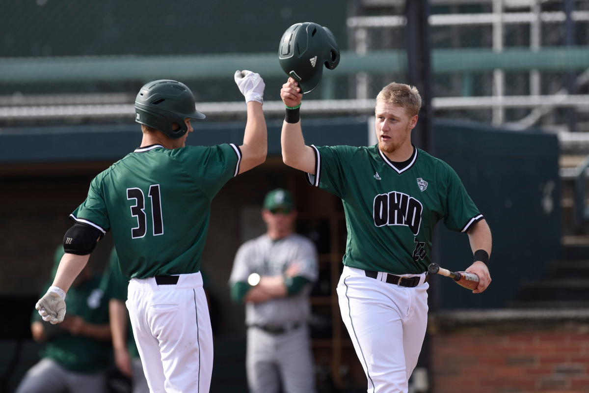 Ohio Baseball Splits Hard-Fought Doubleheader With Eastern Michigan