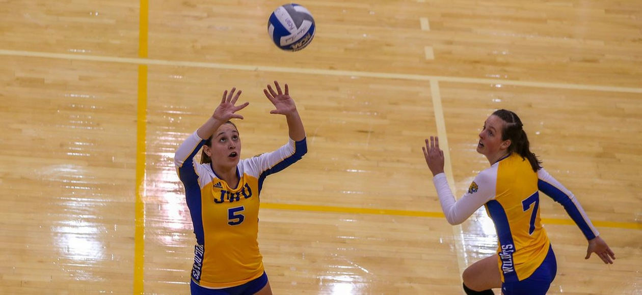 20th-Ranked JWU Women's Volleyball Sweeps GNAC Tri-Match