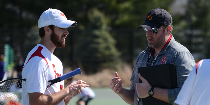 Cox steps down as men's tennis coach